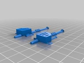 MOTU - Trapjaws blaster/gun