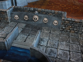 OpenForge Skull Crossing Diorama Tile
