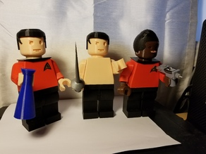 Star Trek Giant Minifigs Accessories