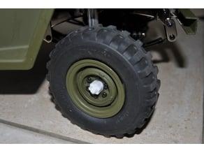Wheel hubs for Gmade Sawback RC Crawler 7mm nut