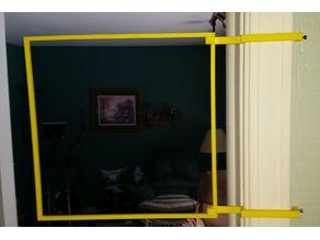 Door Trim Hanger for Quad Racing Gate