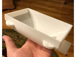 In-table-vent-box