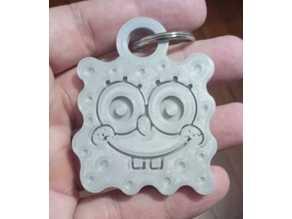 Sponge Bob Keychain