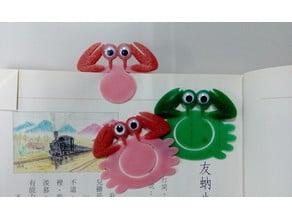 Crab Bookmark