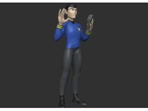 Stylized Spock - Pose 2