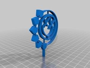 Blink 182 logo 3D