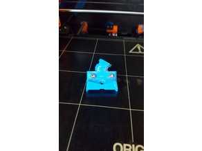 45/45 Prusa MK2/S heatbed cable cover for enclosures (The Viper)