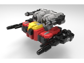 TRANSFORMER[REPLICA]: Blaster  3D Solutech Designed