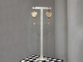 Long Earring Jewelry Display Stand - Single Pair