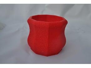 hexagon 10 sided pot
