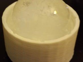 Customizable Spherical Ice Mold