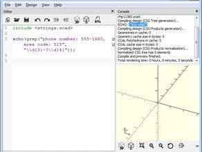 String Theory, a string library for OpenSCAD