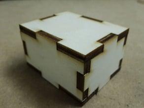 Simple parametric box generator for laser cut