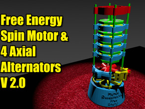Free Energy V2.0 Levitation Spin & Axial Alternator