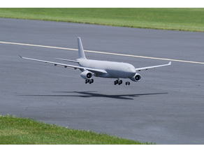 1/30 SCALE A330-300 RC MODEL (2006MM WINGSPAN)