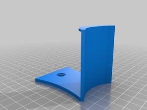 Blue tape wall mount holder
