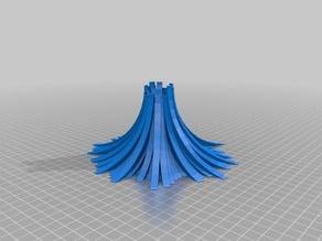 My Customized Stylized volcano E-Cig Holder