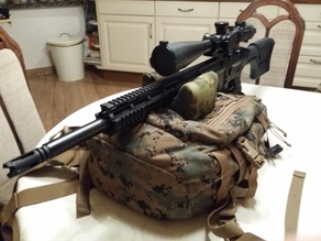 Molle Rifle Rest