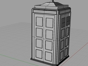 doctor whos tardis (http://makezine.com/go/makerbot)