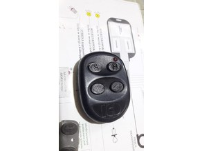 ICD remote fob buttons