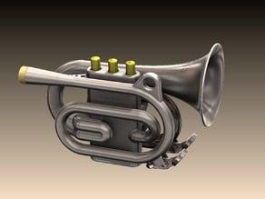 Pocket Cornet - Trumpet 1:2 size