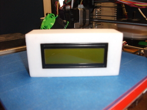 16x2 LCD Case