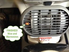 Nissan LEAF heater mount