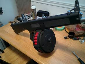 Airsoft TM AA-12 Drum