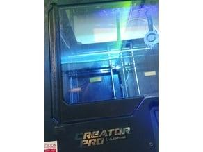Flashforge Creator Pro Glass door trim