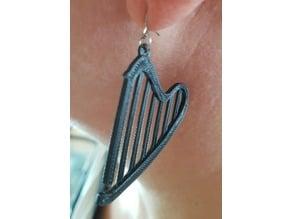 Harp earings