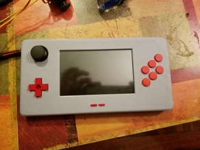 5 inch Raspberry Pi Gear: Retro Handheld game system