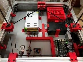 Dual Z single motor drive for Hypercube Evolution