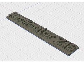 Replicator Makerbot logo z18