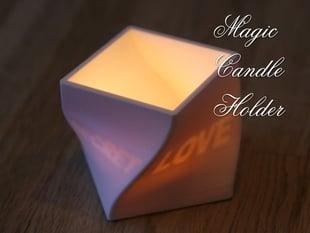Magic Candle Holder