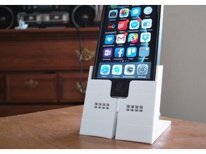 Charging + Speaker Dock for iPhone