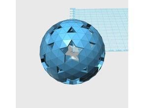Geodesic 5V Sphere Pattern 008