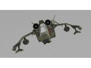 Warhammer 40K Imperial Flyer Valkyrie