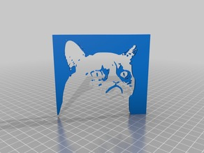 GRUMPY CAT LITHOPHANE humor