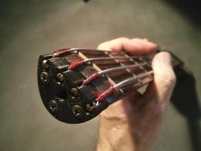 Head piece for headless bass (Cort B2A)