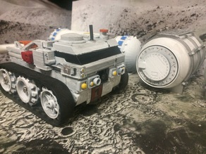 Moon Base Rover - FPV RC - Sarang