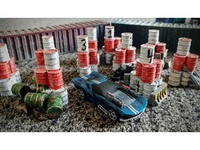 Gaslands Barrel Gates