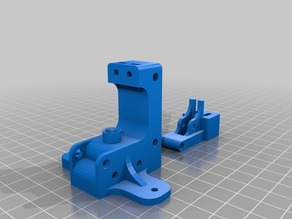 U-type direct drive extruder