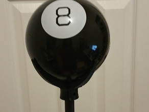 Magic 8 Ball mount (for Grunkle Stan's cane)