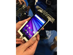 Moto G3 Phone Mount for Actobotics / 80-20 / Rev Robotics