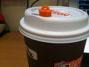 Dunkin Donuts Latte Lid Spill Saver