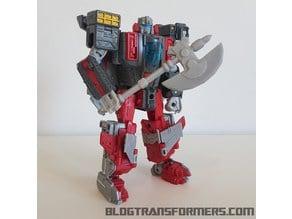 Transformers Broadside s Axe (For Titans Return)