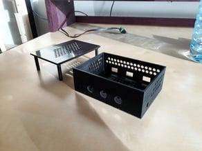 TPA3116D2 audio amplifier box