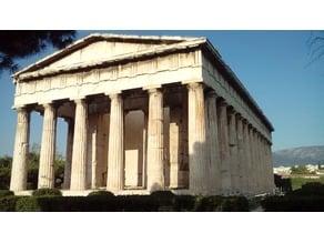 Large Greek Temple