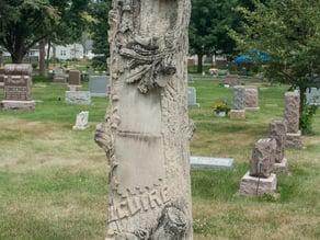Alguire Grave Monument