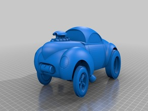 Hot Rod Willys Coupe Toy
